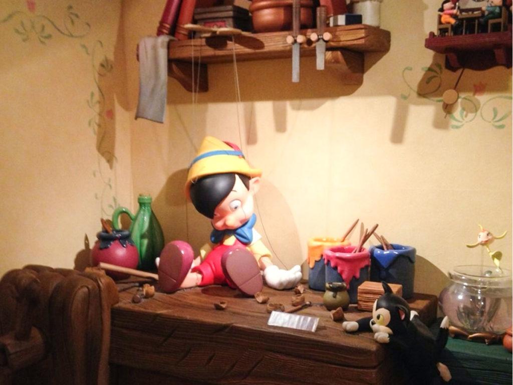 ディズニーストアピノキオ