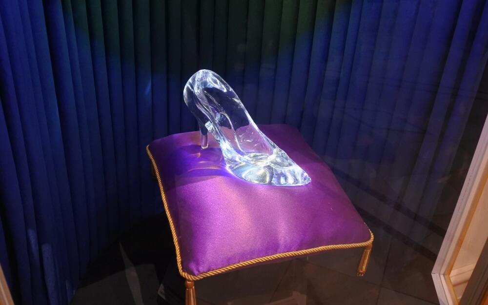 シンデレラガラスの靴